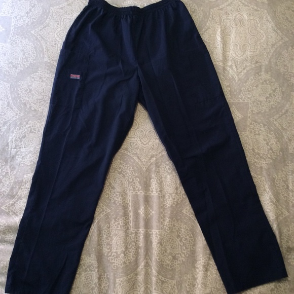 63f680ae09f Cherokee Pants | Navy Blue Scrub With Pockets | Poshmark